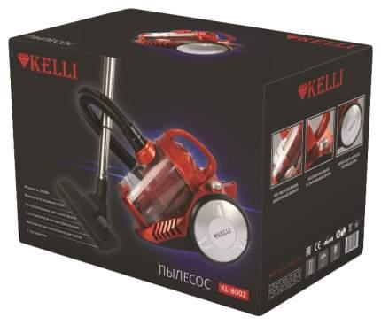 Пылесос KELLI  KL-8002 Red/Black