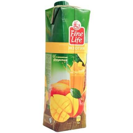 Нектар Fine Life экзотик с мякотью фруктов 1 л