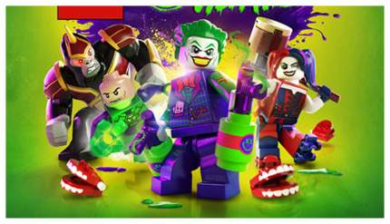 Игра LEGO DC Super-Villains для Xbox One