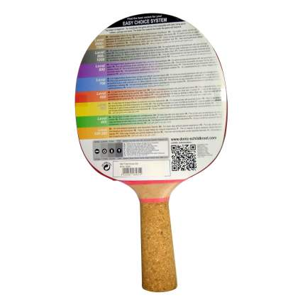Ракетка для настольного тенниса Donic 728461 Persson 600, красная