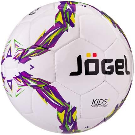 Футбольный мяч Jogel Kids JS-510 №4 white/violet