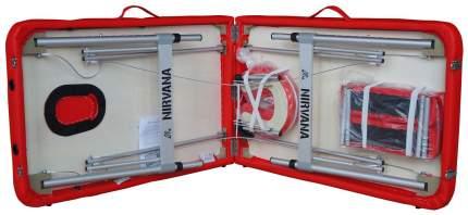 Массажный стол DFC Nirvana Optima красный
