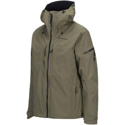 Куртка Peak Performance Teton 2L, olive, M INT