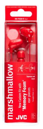 Наушники JVC HA-FX38-R Red