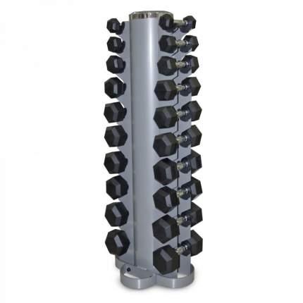 Гантельный ряд Larsen NT809B+NT162 от 1 до 10 кг