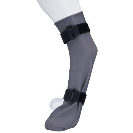 Защитный носок для собак Trixie, XL: 12 см/45 см, серый