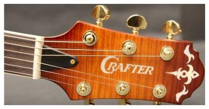 Полуакустическая гитара CRAFTER FEG 780SP VTG-V  Кейс