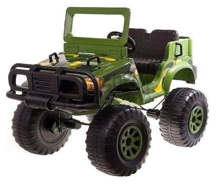 Радиоуправляемый электромобиль с полным приводом Chien Ti Backyard Safari CT-888 зеленый