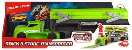 Автовоз зелёный Dickie Toys 3747002