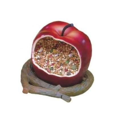 """Кормушка для птиц Penn-Plax """"Яблоко"""", внутренняя, 8х8х11 см"""