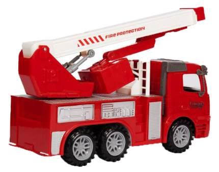 Фрикционная машинка Handers Пожарная машина. Автовышка