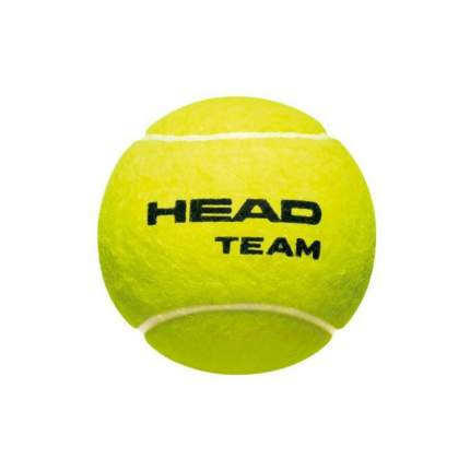 Мяч теннисный Head Team 3B 2017, желтый