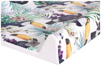 Матрац пеленальный Ceba Baby Flora & Fauna Tucan W-200-099-544