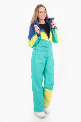Комбинезон Qluck Tricolor W171012 green blue sunny, XXL