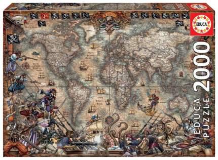 Пазл Educa Пиратская карта 18008 2000 элементов