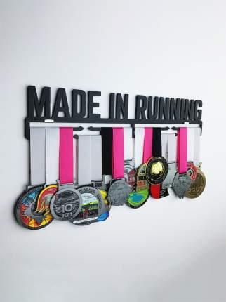Медаллер Made In Running черный