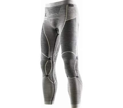 Кальсоны X-Bionic Apani Merino Fastflow Pants 2019 мужские серые/белые, L/XL