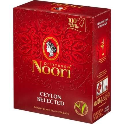 Чай Принцесса Нури отборный черный 100 пакетиков