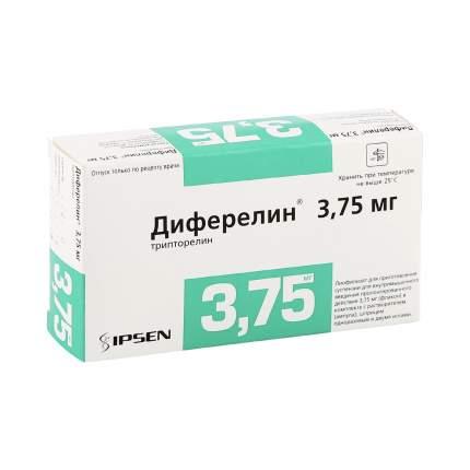 Диферелин лиофилизат 3.75 мг