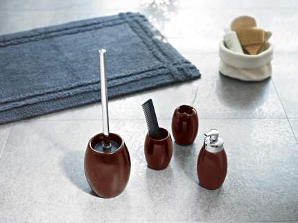 Дозатор для жидкого мыла Shiny коричневый
