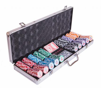 Набор для покера Partida Premium Crown на 500 фишек