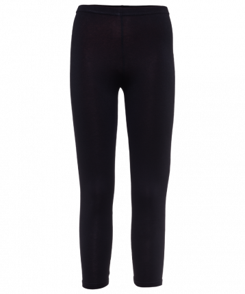 Леггинсы женские Amely AA-2501, черные, 40 RU