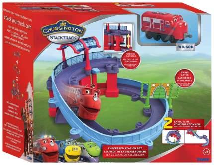 Игровой набор Чаггингтон Stacktrack Станция техосмотра с Уилсоном LC54237