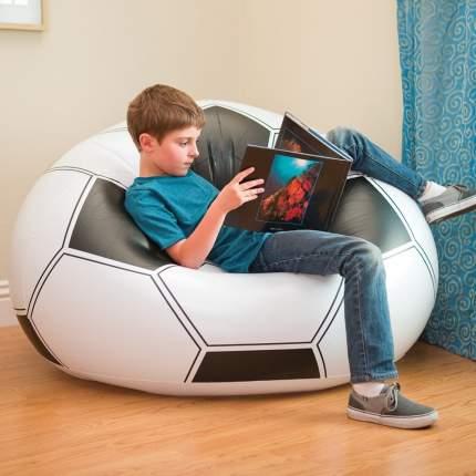 Надувное кресло футбольный мяч intex, 108х110х66 см, арт, 68557, Интекс