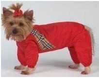 Комбинезон для собак ТУЗИК Такса средняя женский, в ассортименте, длина спины 41 см