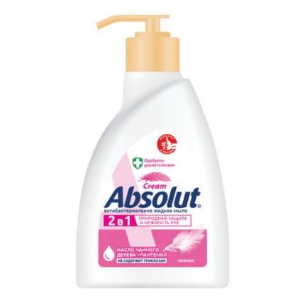 """Мыло жидкое 250 мл, ABSOLUT (Абсолют), """"Нежное"""", антибактериальное, дозатор, 5007, 5061"""