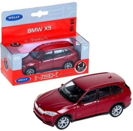 Коллекционная модель Welly 43691 1:34 BMW X5 в ассортименте
