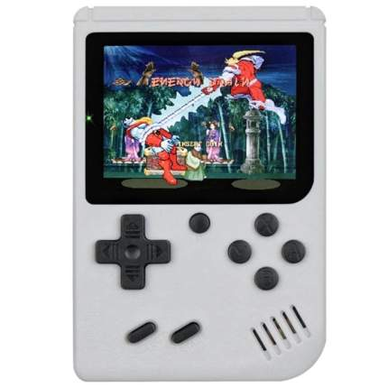 Портативная консоль QVATRA Game Box Plus 400 in 1 White