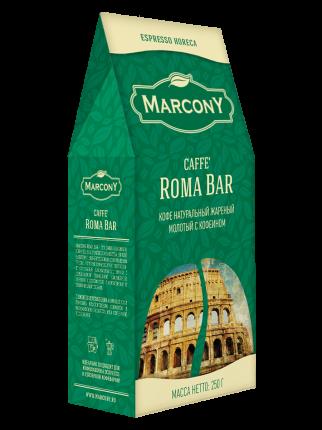 Кофе молотый Marcony Roma Bar 250 г
