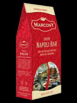 Кофе молотый Marcony Napoli Bar 250 г