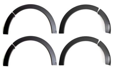 Накладки на колёсные арки для Renault Sandero 2009-2013, глянец (под покраску)