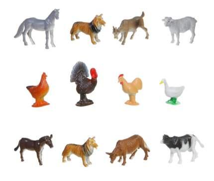 Набор животных Bondibon ребятам о зверятах, домашние животные и птицы, 2