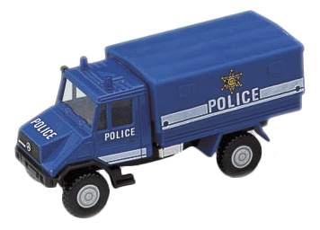 Коллекционная модель Welly 99618 Полиция