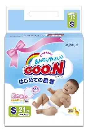 Подгузники Goon S (4-8 кг), 21 шт.