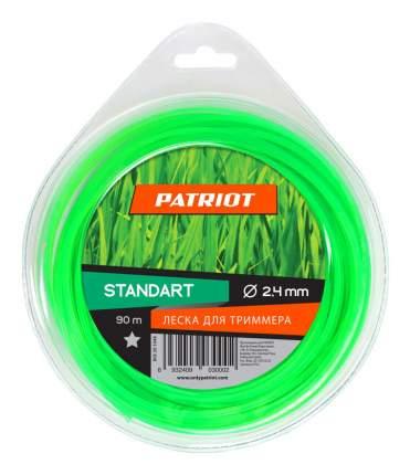 Леска для триммера PATRIOT Standart D 2,4 мм L 90 м 805201048