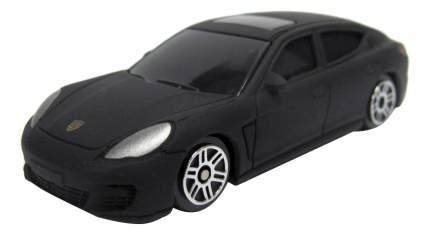 Машина металлическая Uni-Fortune 1:64 Porsche Panamera без механизмов черный матовый