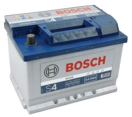 Аккумулятор автомобильный автомобильный Bosch S4 Silver 0 092 S40 040 60 Ач