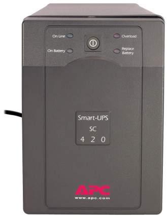 Источник бесперебойного питания APC SMART SC420I Black