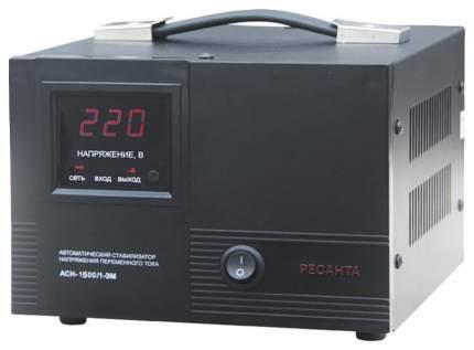 Однофазный стабилизатор Ресанта ACH-1500/1-ЭМ