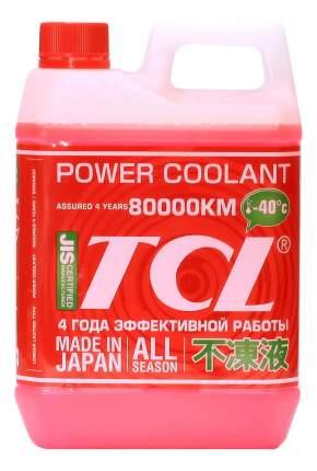 Антифриз TCL POWER COOLANT -40 Красный Готовый антифриз 2л 1.77кг