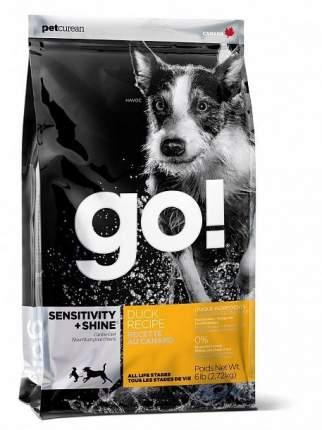 Сухой корм для собак GO! Sensitivity + Shine Duck Recipe, утка, 11.35кг