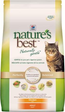 Сухой корм для кошек Hill's Nature's Best, натуральный, курица, 2кг