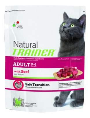 Сухой корм для кошек TRAINER Natural Adult, говядина, 0,3кг