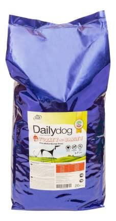 Сухой корм для собак Dailydog Adult Large Breed, для крупных пород, индейка и ячмень, 20кг