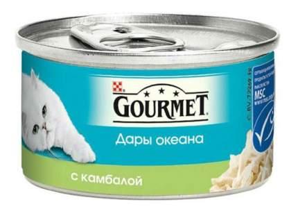 Консервы для кошек Gourmet Дары океана, рыба, 85г
