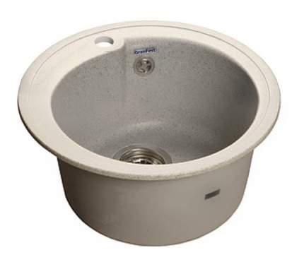 Мойка для кухни мраморная GranFest Rondo GF-R450 серый